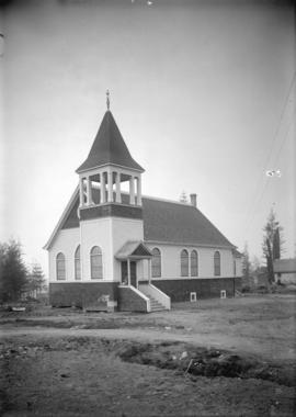 Robson Memorial Methodist Church, Fleming [Road (Street)] and Flett Road [East 18th Avenue in Ced...