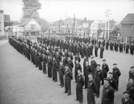 A.R.P. auxiliary police [inspection] parade