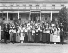 Graduating nurses V.G.H. [Vancouver General Hospital] at Canyon View