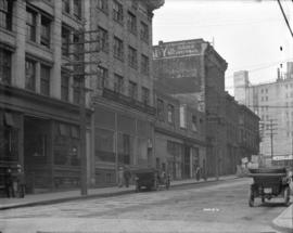 [View of 300 block of Water Street, looking west]