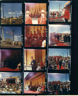 1969 P.N.E. Opening Ceremonies on Outdoor Theatre stage