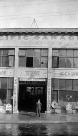 [Exterior of Pacific Garage at 524 Homer Street]