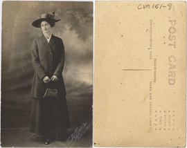 Portrait of woman in outdoor clothing