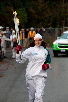 Day 002, torchbearer no. 020, Arielle Past - Colwood, Sooke