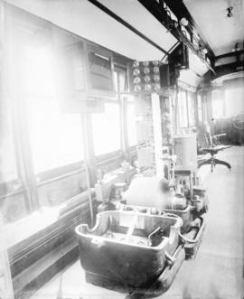 [Equipment inside streetcar]