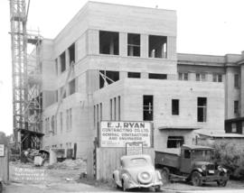 T.B. Hospital [under construction at 2647 Willow Street]
