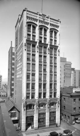 Yorkshire building at 525 Seymour Street