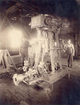[Interior Vancouver City Foundry and Machine Works]
