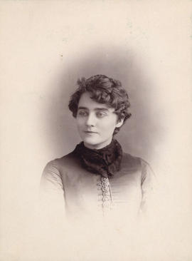 [Miss Lillie Card (Mrs. Gabriel Lycett)]