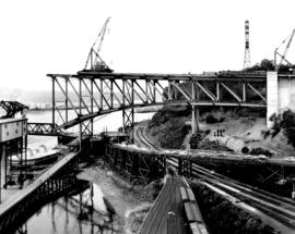 No. 27 [Second Narrows bridge construction]