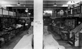 [Interior of Clarke and Stuart Stationery Store - 550 Seymour Street]