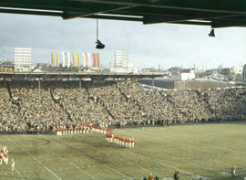 [Half-time show, 1958 Grey Cup game]