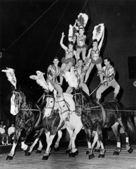 Dorchester Troupe : [publicity photo of acrobats]