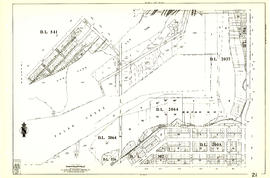 Sheet 21 : Homer Street to Main Street and Fourth Avenue to Georgia Viaduct