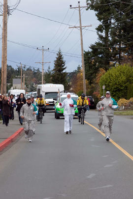 Day 001, torchbearer no. 053, Douglas Woodward - Central Saanich
