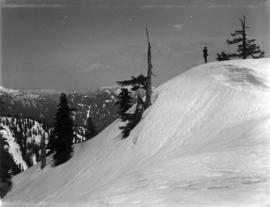 [A cameraman on Grouse Mountain]