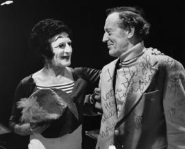 Marcel Marceau and Hugh Pickett