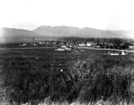 Middle portion of Panorama, view from Point Grey