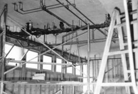 [Job no. 876] : ceiling of laundry storage area, [Royal Columbian Hospital] New Westminster