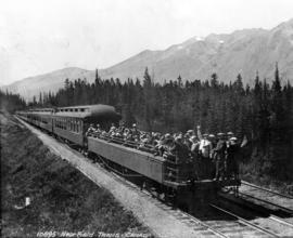 [C.P.R. open observation car] Near Field - Trans Canada