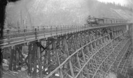 Mountain Creek Bridge, C.P.R., Selkirks, length 1084 ft., height 153 ft.