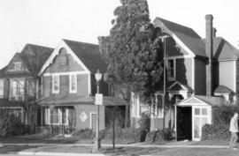 [Residences in the 1400 block of West Georgia Street]