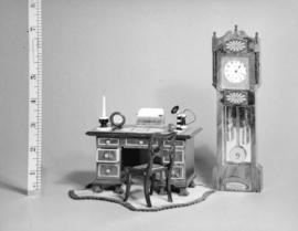 [Furniture in Colonel Broome's miniature house]