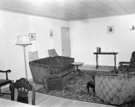 [Interior view of a living room]
