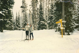 Out and About : skiing Manning Park 1987