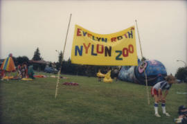 Evelyn Roth Nylon Zoo sign