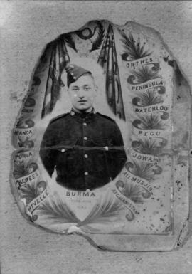 Mr. Phillips [Copy of illustrated photograph of a soldier]