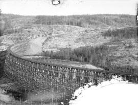 """Black Bird Trestle"", North Shore Lake Superior"