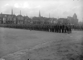 62nd Battalion. C.E.F. at Cambie Street