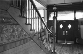 [Front hall and stairway], Europe Hotel [43 Powell Street]