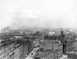 [Looking east from Powell Street and Alexander Street]