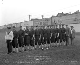 Carleton Centre Baseball Club - Champions Senior Twilight League, 1923-1924