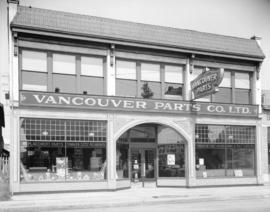 Vancouver Parts Company [at 1365 Seymour Street]