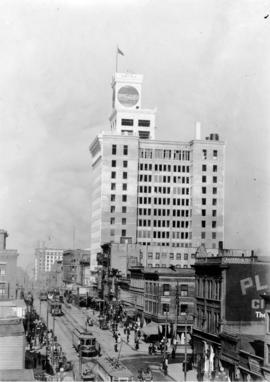 [View of the east side of the 700 block Granville Street]