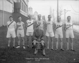 231st Battalion track and field team