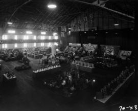 1957 P.N.E. Horticultural Show exhibits in P.N.E. Forum