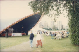 Scandinavian Festival stage at Vanier Park