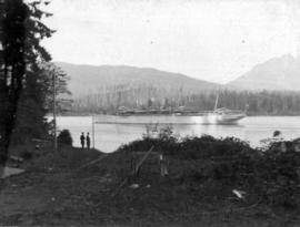 Empress of India [in Burrard Inlet]
