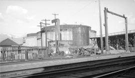 Can. National Oil Tanks [north foot of Main Street]