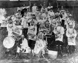 Tsimpsian Tribe [Nelson's Cornet Band of Port Simpson B.C.]