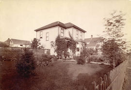 [The exterior of the Henry Mole residence - 1025 Comox Street]