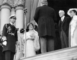 [King George VI and Queen Elizabeth]