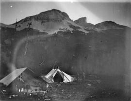 [B.C. Mountaineering Club camp in Black Tusk Meadows]