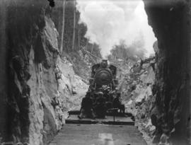 [B.C. Mountaineering Club excursion on new Pacific Great Eastern Railway]