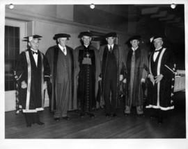 University of British Columbia honorary degree recipients and officials, autumn congregation
