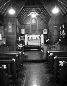 [interior of Anglican Church]